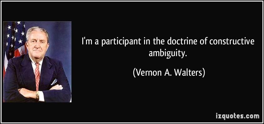 Vernon A. Walters's quote #1