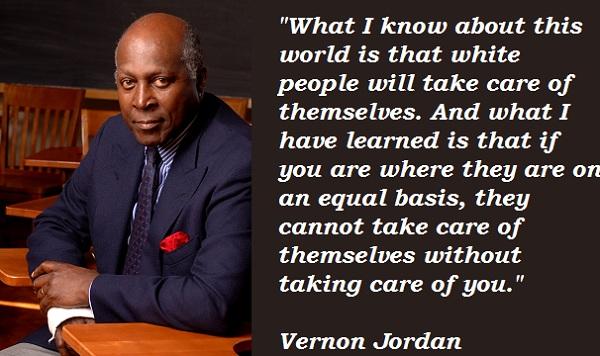 Vernon Jordan's quote #5