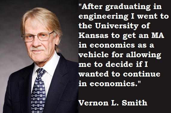 Vernon L. Smith's quote
