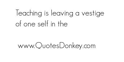 Vestige quote #1