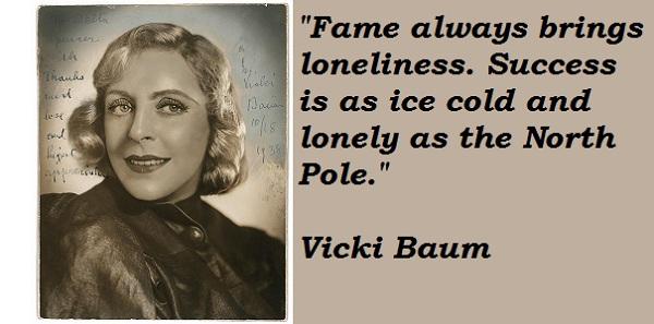 Vicki Baum's quote #1