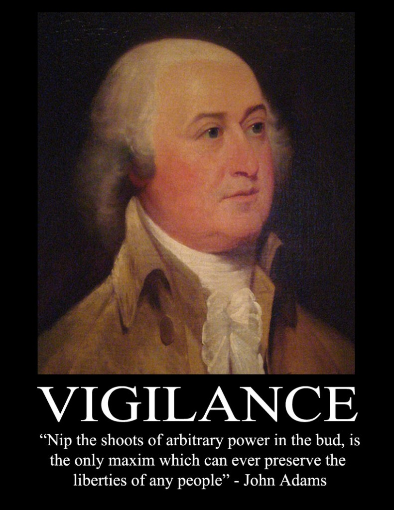Vigilance quote