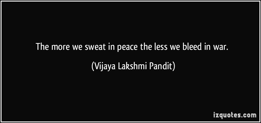 Vijaya Lakshmi Pandit's quote #1