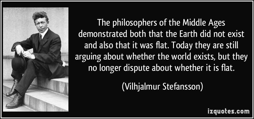 Vilhjalmur Stefansson's quote