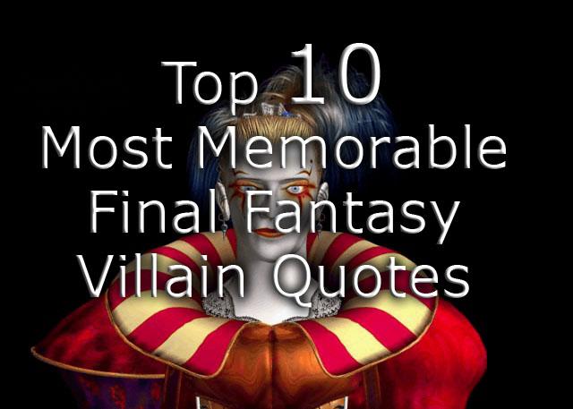 Villain quote #5