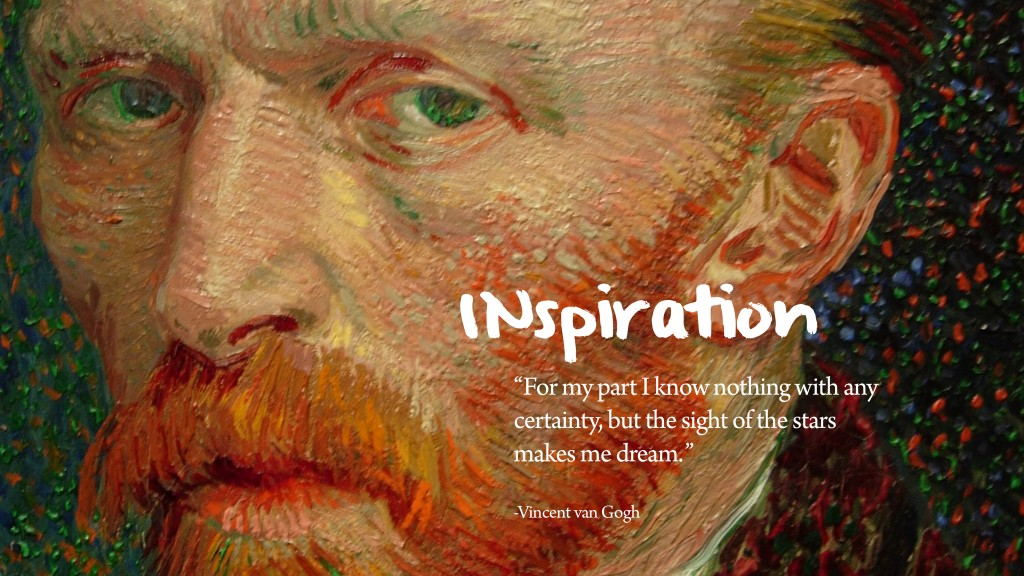Vincent Van Gogh's quote #1