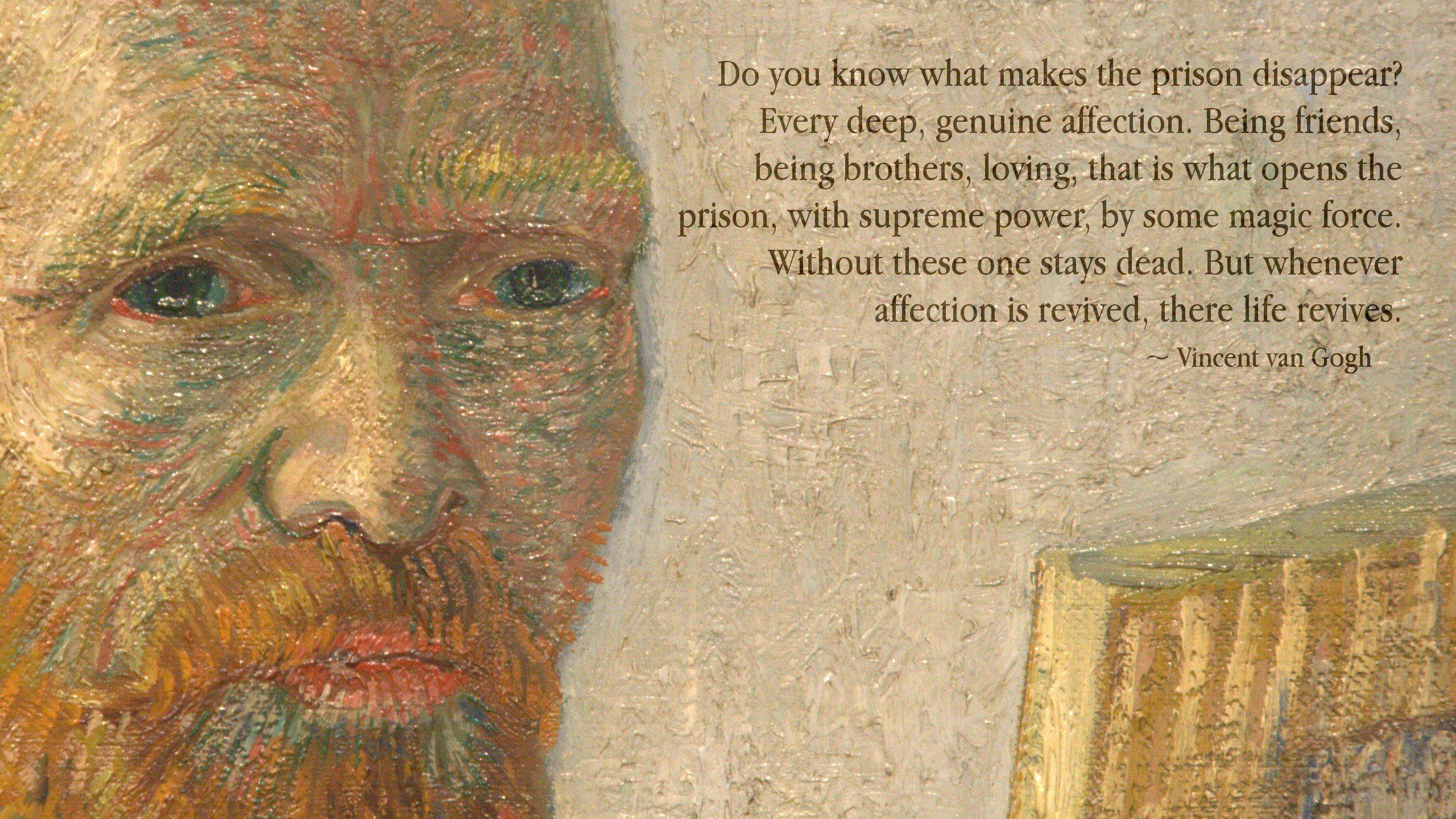 Vincent Van Gogh's quotes, famous and not much - Sualci Quotes