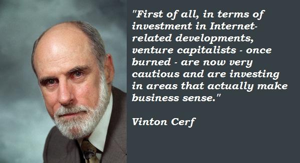 Vinton Cerf's quote #2