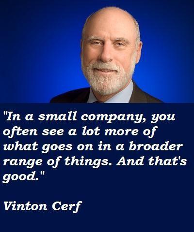 Vinton Cerf's quote #5