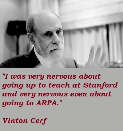Vinton Cerf's quote #6