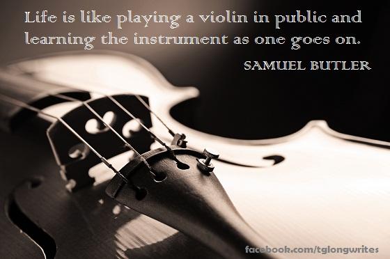 Violinist quote #2
