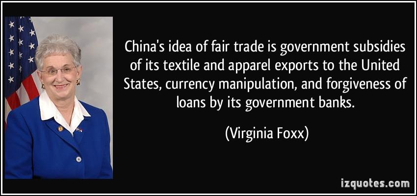 Virginia Foxx's quote #8