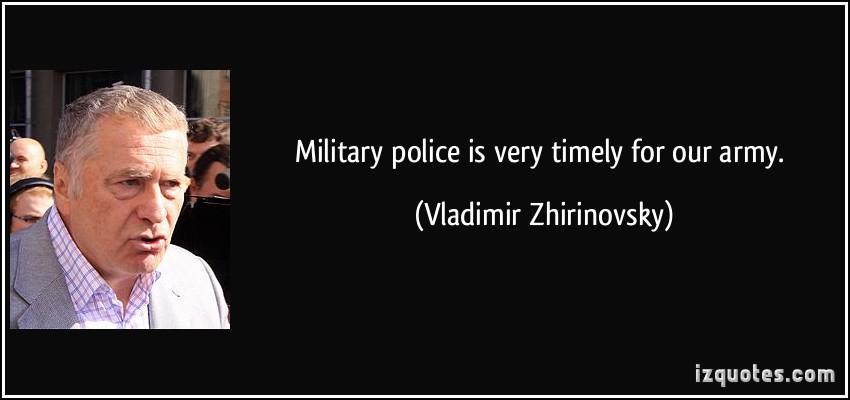 Vladimir Zhirinovsky's quote #1