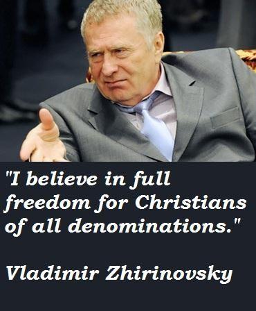 Vladimir Zhirinovsky's quote #6