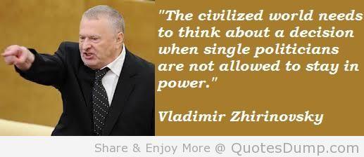 Vladimir Zhirinovsky's quote #5