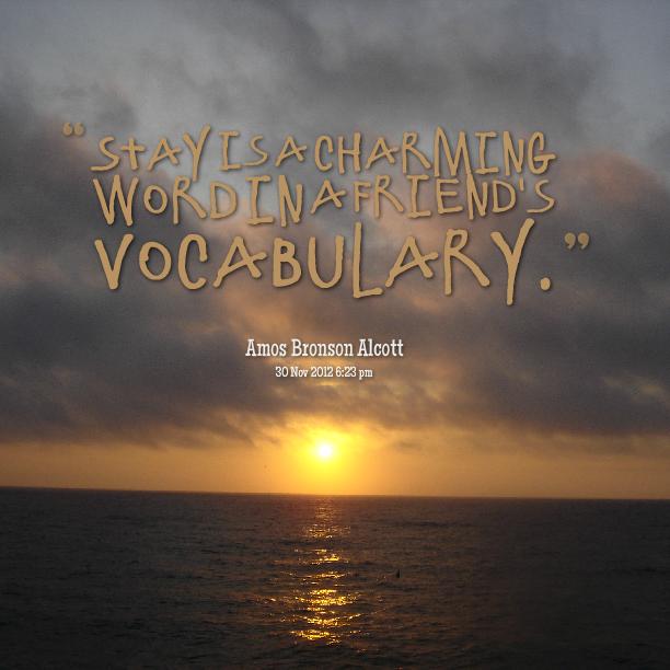 Vocabulary quote #1