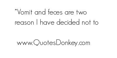 Vomit quote #1