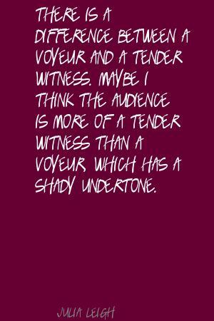 Voyeur quote #1