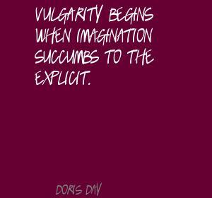 Vulgarity quote #1