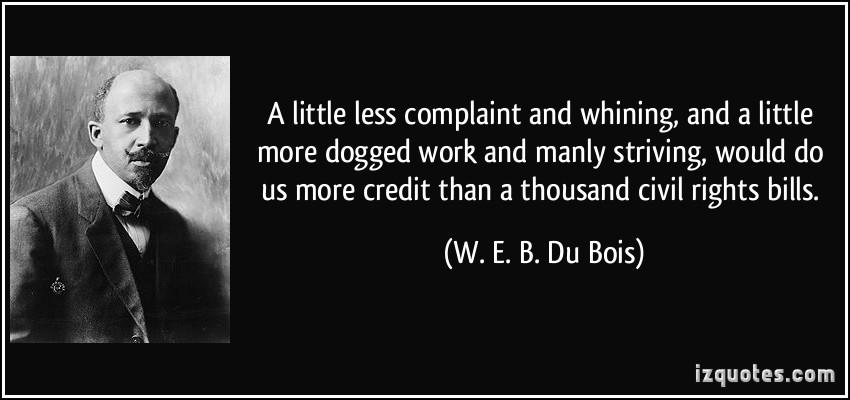 W. E. B. Du Bois's quote #6