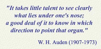W. H. Auden's quote #1