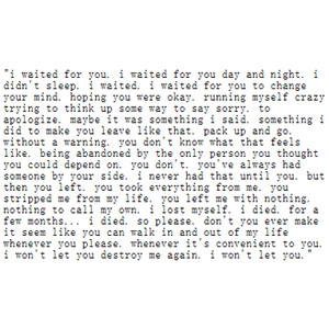 Waited quote #2