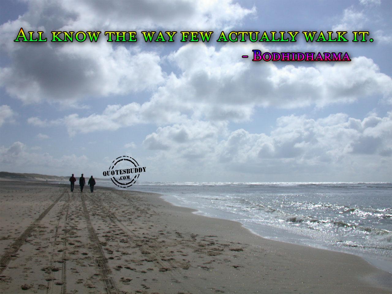 Walk quote #1