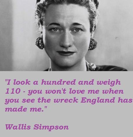 Wallis Simpson's quote #5