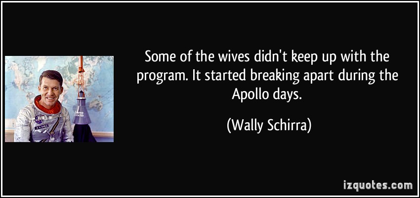 Wally Schirra's quote #4