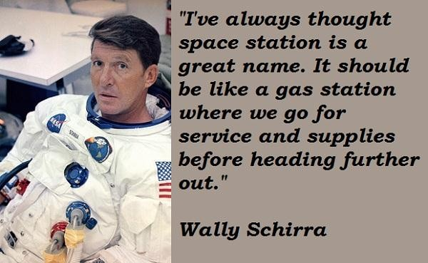 Wally Schirra's quote #5
