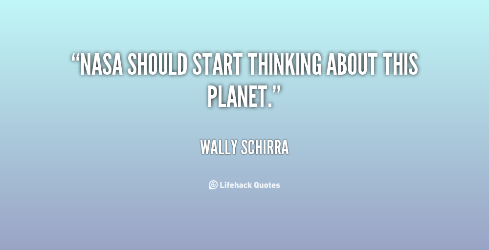 Wally Schirra's quote #8