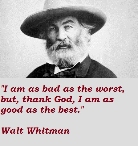 Walt Whitman quote #2
