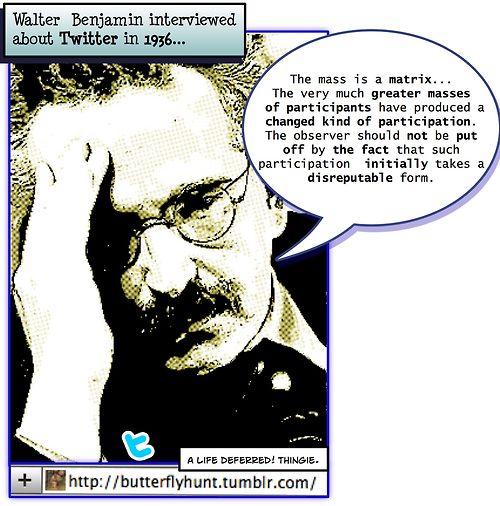 Walter Benjamin's quote #1