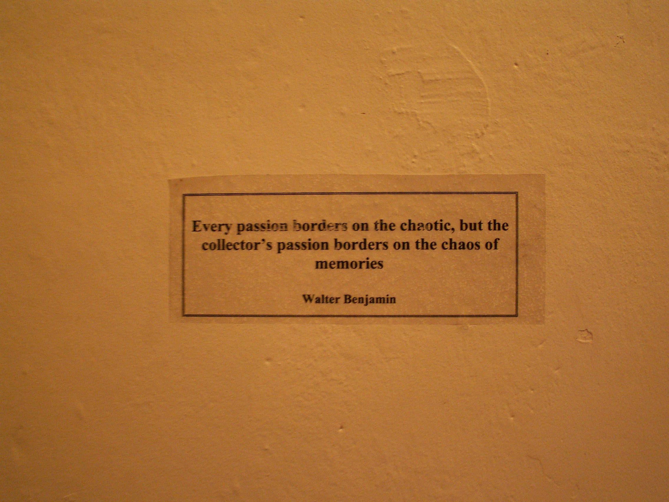 Walter Benjamin's quote #4