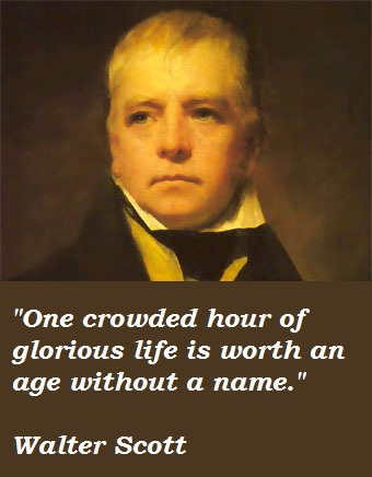 Walter Scott's quote #1