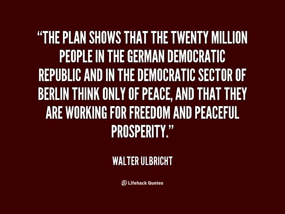 Walter Ulbricht's quote #6