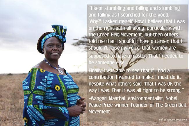 Wangari Maathai's quote #1