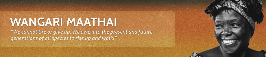 Wangari Maathai's quote #7