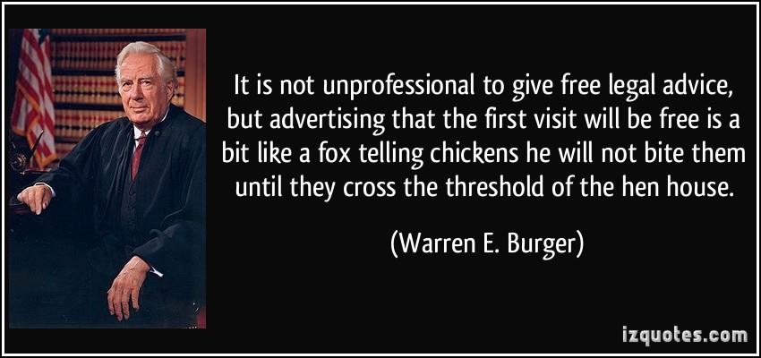 Warren E. Burger's quote #1