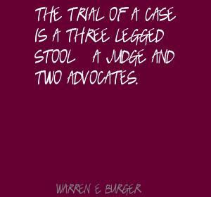 Warren E. Burger's quote #4