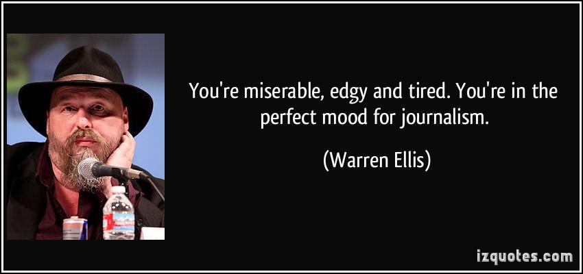 Warren Ellis's quote #1