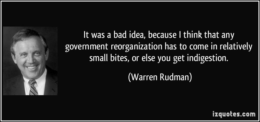 Warren Rudman's quote