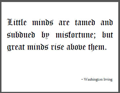 Washington Irving's quote #2