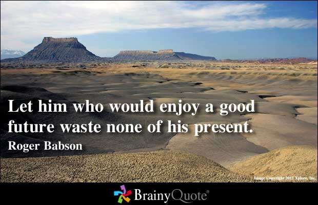 Wasteful quote #1