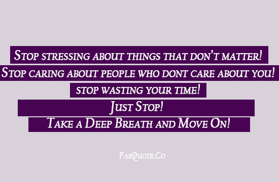 Wasting quote #6