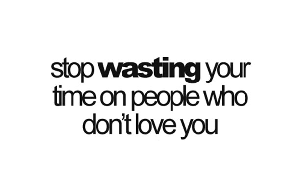 Wasting quote #7