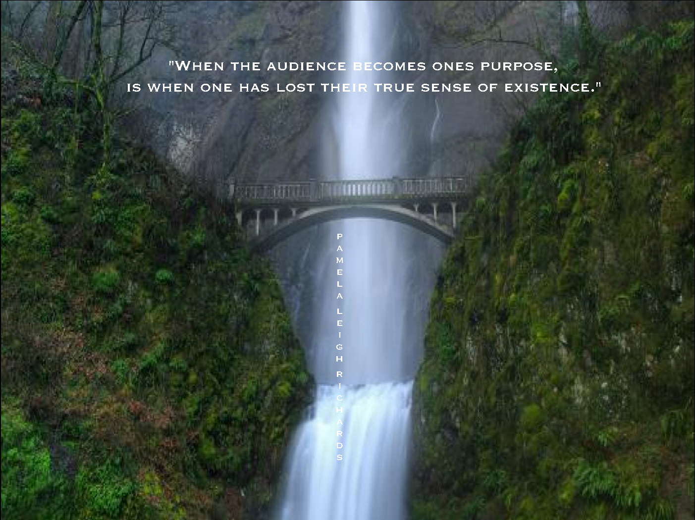 Waterfall quote #1