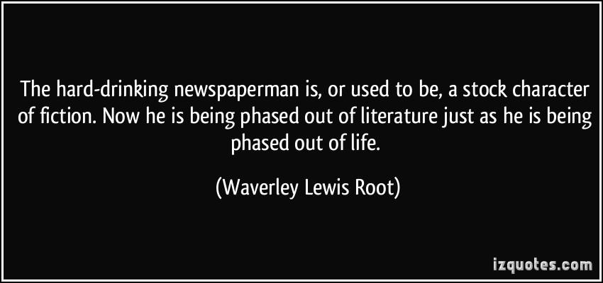 Waverley Lewis Root's quote