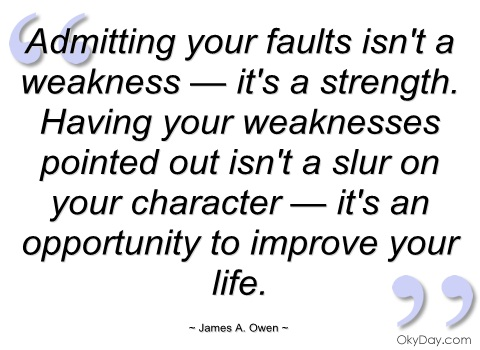 Weakness quote #5