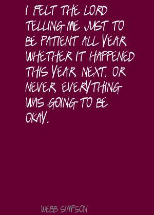 Webb Simpson's quote #3